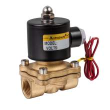 """Electric Solenoid Valve 3/8"""" NPT 24V DC Brass body Normally Closed"""