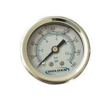 """1.5"""" Fluid Glycerine filled Pressure Gauge 0 to 160 psi"""