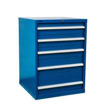 "Industrial Modular Drawer Cabinet 40 1/4"" x22 1/2"" x39 1/4"" 5 Drawers"