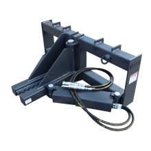 Heavy Duty Post and Tree Puller for Skid Steer Universal Landsape Tool