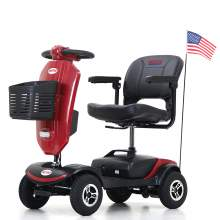 Mobility Scooters Lightweight Compact With Exclusive Front Windshield