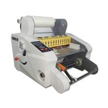 "Auto Hot and Cold Both Sides Roll Laminator Max. Width 13-3/4"" A3 350A"