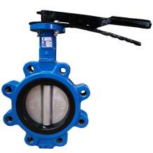 """Lug Style Butterfly Valve Ductile Iron 4"""" Pipe Size Class 150"""