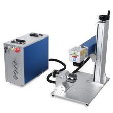"JPT 50W Fiber Laser Marking Engraver 6.8"" * 6.8"" with 80mm Rotary Axis"