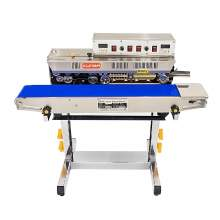 Horizontal Continuous Band Sealer Floor Type Solid Ink Date Printer
