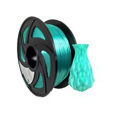 3D Printer PLA Plus  Silk Green Filament 1.75mm 2.2Lbs