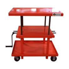 Post Hydraulic Lift Table 2200 LBS  Max. Height 42 Inch