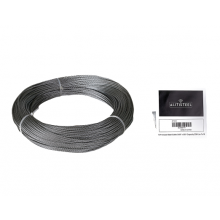 "Galvanized Cable 3/32"" x 250' Capacity 200 Lbs 7x19"