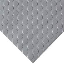 Garage Floor Mat - Coin - 6 1/2 ft. x 20 ft. Gray