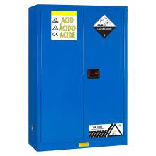 "Acid And Corrosive Cabinet 45 Gallon 65"" x 43"" x 18"" Manual Door"