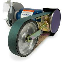 "2"" x 48"" Belt, 7"" Disc w/ 8"" Contact Wheel Attachment"