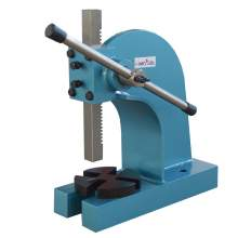 """2 Ton Heavy Duty Arbor Press 7"""" Height Manual Power Pressure Punch"""