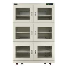 1250L Electronic Dry Cabinet 6 Door 5%-50%RH Humidity Storage Cabinet