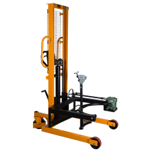 "Portable Drum Lifter  180° Rotation 53"" Lift-Rotate Jaw Cradle 880 Lbs"