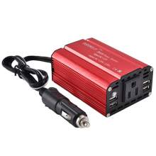 SUDOKEJI 300W Power Inverter DC 12V to AC 110V with 9.6A 4 USB Charger