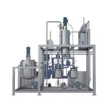 5.4 Sqft 20L/h fully stainless steel wiped film molecular distillation