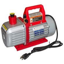 5CFM Refrigerant Vacuum Pump for HVAC/Auto AC Refrigerant Recharging