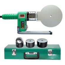 Digital Display Automatic Constant Temperature Welding Machine For 75-110mm Plastic HDPE UPVC PPR PVC PE Pipe For Sale