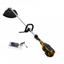 48-Volt Lithium-ion Cordless String Trimmer/Edger 4 AH Battery Included