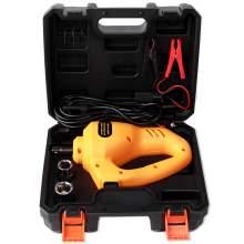 12V Electric Car Floor Jack Set Scissor Lift Jack with Impact Wrench