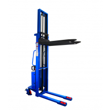 """Semi-electric Stackers 2200lbs capacity 130"""" Lifting Height"""