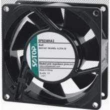 "Axial Fan 115V AC 3-31/50"" x 3-31/50"" x 1-1/2"""