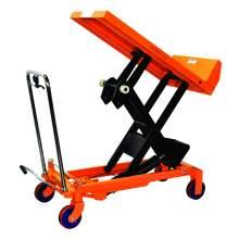 Bolton Tools Hydraulic Scissor Lift and Tilt Table Cart | 1100 lb | TF50F