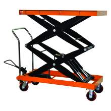 Hydraulic Double Scissor Lift Table Cart | 2200 lb | TF100SD