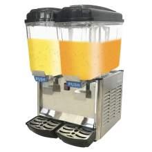 Commercial Juice Dispenser Double Tank 4 Gallon