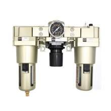 "Pneumatic Filter Regulator Lubricator 1"" NPT 40 Micron 22-123 psi"
