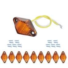 Led Side Marker Lights Amber For Boat Trailers