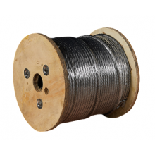 "Galvanized Cable 5/16"" x 500' Capacity 1960 Lbs 7x19"