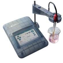 Benchtop pH mV Meter -2.00 to 20.00 pH 0.01 M log