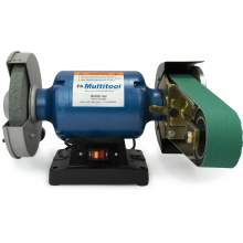 "8"" Multitool Grinder 1HP 120V, assembled with MT362 2x36 attachment"