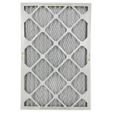 """HVAC Standard Pleated Air Filter MERV8 15"""" x 20"""" x 1"""" Qty 12"""