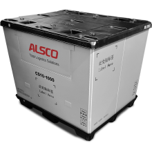 "48 x 40 x 39""  Collapsible Pallet Pack Container 2600 lbs Cap."