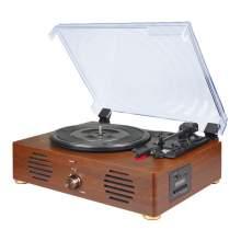 Muti-Record Player With Bluetooth Speaker FM radio Support Recording