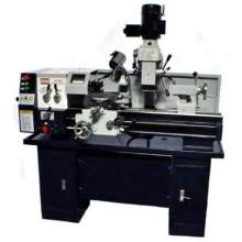 "Bolton Tools AT320 12"" x 30"" Gear Head Combo Lathe Mill Drill W/ Cooling System Stand Included!"