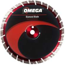 "Omega 12"" Masonry Saw Blade 15mm Tall Segments (Premium Grade)"