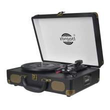 Mutifunctional Suitcase Record Player With Bluetooth Speaker FM radio