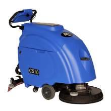 20'' Auto Walk-behind Floor Scrubber  24V/120Ah Batteries 20Gal