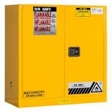 "Flammable Cabinet 30 Gallon 44"" x 43"" x 18""  Manual Door"