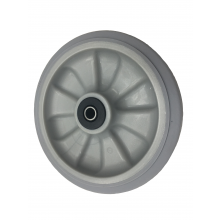 8'' heavy duty rear-wheel for Bersi TS2000/TS3000 dust extractor