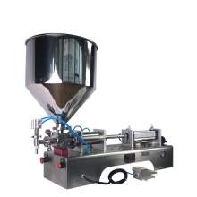 3.4-34 OZ Paste/Liquid Filling Machine Semi-Auto One-Head Filler