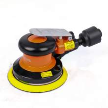 5 Inch 12000 RPM Pneumatic Polisher With Eccentric Disk And Big Hose