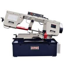 Bolton Tools 10 Inch x 18 Inch Metal Cutting Band Saw with Swiveling Base | BS-1018B