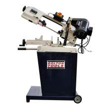 "Bolton Tools 5"" x 6"" METAL CUTTING BANDSAW WITH SWIVEL HEAD BS-128HDR"