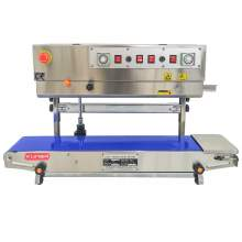 Continuous Band Sealer FRM-980LW Vertical Type with Embossing Coder