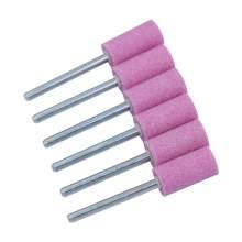 Aluminum oxide  W177 (D)3/8 (T)3/4 Cylinder End Pink 6pcs/set