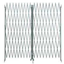 Double Steel Folding Gate Openning 10-12 Ft  In Use Ht 6 Ft